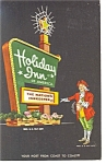 Rochester, NY Holiday Inn Sign Postcard