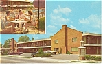 Williamsburg VA Holiday Inn  Postcard p6673