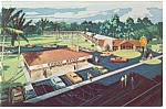 Florida Stage Stop Quality Courts Motel Postcard