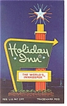 Richmond ,VA,  Holiday Inn Sign Postcard
