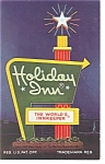 Newport News VA  Holiday Inn Sign Postcard p6725