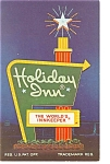Petersburg,VA,  Holiday Inn Sign Postcard