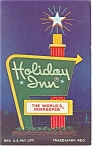 West Richfield OH Holiday Inn Sign Postcard p6727