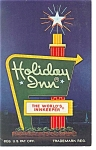 Henryetta, OK,  Holiday Inn Sign Postcard