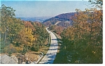 Click here to enlarge image and see more about item p6782: Blue Ridge Parkway, North Carolina Postcard