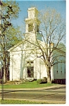 Tolland  CT Congregational Church  Postcard p6789