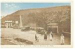 Click here to enlarge image and see more about item p6801: Beni Saf Algiers Monument aux Morts Algeria Postcard p6801 Cars 1910