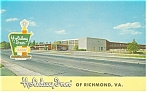 Richmond VA The Holiday Inn Postcard p6847