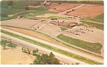 Click here to enlarge image and see more about item p6927: Ohio Turnpike Service Plaza Howard Johnson Postcard
