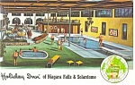 Niagara Falls, NY, The Holiday Inn Postcard