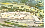 Tulsa OK Holiday Inn West Postcard p6952