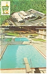 Asheville NC Holiday Inn East Postcard p6974