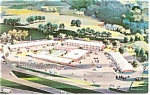 Tulsa Oklahoma Holiday Inn West Postcard p6976