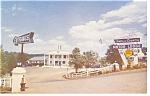 Charlottesville VA  Town and Country Motor Lodge Postcard p6987
