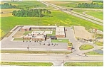 Fremont OH Holiday Inn Postcard p6994