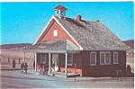 Amish One Room School Pensylvania Postcard p7013