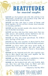 Click here to enlarge image and see more about item p7021: Beatitudes for Married Couples p7021