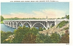 Click here to enlarge image and see more about item p7026: Columbia SC Jefferson Davis Bridge p7026
