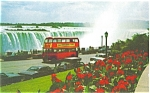 Click here to enlarge image and see more about item p7035: Double Decker Bus Niagara Falls Ontario p7035