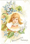 Click to view larger image of Willamantic Thread Trade Card p7042 (Image1)