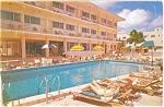 Olympia Motel Miami Beach Florida Postcard p7058