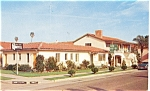 Click here to enlarge image and see more about item p7066: Twin Palms Motel, Santa Barbara, California