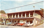 Gatlinburg TN Tommy s Restaurant Vintage Cars Postcard p7078