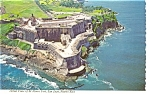 Click here to enlarge image and see more about item p7133: El Morro Fort San Juan Puerto Rico Postcard