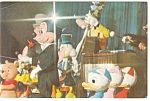 Disney World Mickey Mouse Revue Postcard p7163
