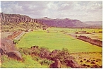 Fort Davis TX  Panoramic View  Postcard p7171