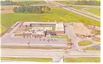 Fremont Ohio The Holiday Inn  Postcard p7202