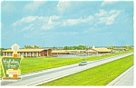 Perrysburg Ohio Holiday Inn  Postcard p7205 Vintage Plymouth