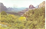 Click here to enlarge image and see more about item p7244: Oak Creek Canyon, Arizona Postcard
