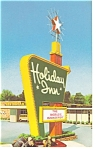 Elizabeth City, NC, The Holiday Inn Postcard