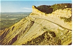 Knife Edge Section Mesa Verde National Park CO Postcard p7252