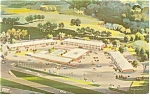 Tulsa Oklahoma Holiday Inn Postcard p7277