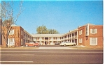 Alexandria VA The Towne Motel Postcard p7305