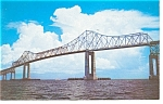 Sunshine Skyway Florida Old Bridge Postcard p7308