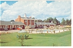Richmond VA Princess Lee Motel Postcard Old Cars p7318