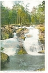 North Woodstock,NH, Falls Harvard Brook  Postcard