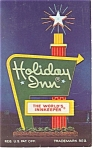 Boone NC The Holiday Inn Sign Postcard p7372