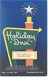 Cleveland  OH The Holiday Inn Airport Sign Postcard p7374