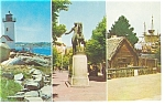 NY World's Fair 64 64 MA Pavilion Souvenir Postcard p7381