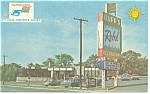 Duff's Quality Courts Motel, Virginia Postcard Old Cars