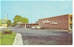 Columbus Ohio Holiday Inn Postcard p7424  Vintage Cars