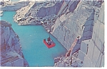 Click here to enlarge image and see more about item p7514: Barre VT Rock of Ages Granite Quarry Postcard p7514