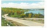 Roosevelt Highway near Carbondale, PA Postcard