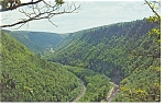 Click here to enlarge image and see more about item p7525: Pennsylvania Grand Canyon Postcard p7525