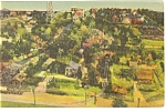 Click here to enlarge image and see more about item p7528: Hamburg,PA, Roadside America, Mini Village Postcard