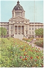 Pierre SD State Capitol Postcard p7563
